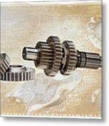Mechanical Life Metal Print by Stephen Baker