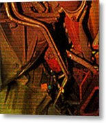 Mechanical Piping Jlb Metal Print