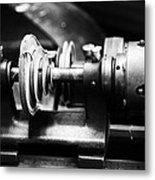 Mechanism Metal Print