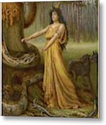 Medea, Daughter Of Aeetes King Metal Print