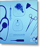 Medical Equipment Metal Print