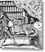 Medical Purging Metal Print