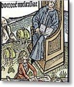 Medical Teaching, 1487 Metal Print