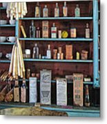 Medicinals In An Old General Store Metal Print