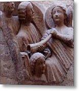 Medieval Angels Metal Print