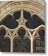 Medieval Church Window Ornaments Metal Print