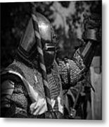 Medieval Faire Knight's Victory 1 Metal Print