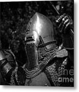 Medieval Faire Knight's Victory 2 Metal Print