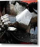 Medieval Faire Ready To Ride Metal Print