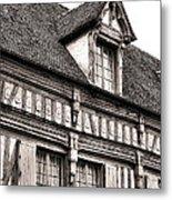 Medieval House Metal Print