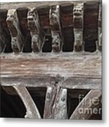 Medieval Market Place  Metal Print by France  Art