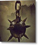 Medieval Spike Ball  Metal Print