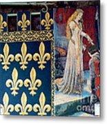 Medieval Tapestry Metal Print by France  Art