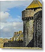 Medieval Towers Metal Print