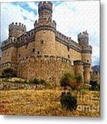 Medievel Castle Metal Print