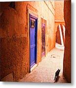Medina Of Marrakesh Metal Print