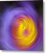 Meditation - Abstract Energy Art By Sharon Cummings Metal Print