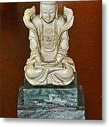 Chineses Meditation Metal Print