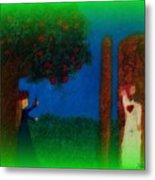 Meditation Number 7 On The Song Of Songs Metal Print by Maryann  DAmico