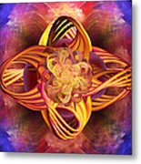 Meditative Energy Metal Print