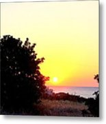 What You Sea From The Mediterranean View  Metal Print
