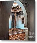 Medrassa In Marrakech Metal Print
