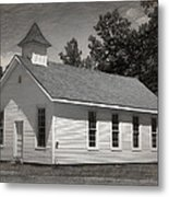 Meeting House Metal Print