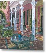 Meeting Street Inn Charleston Metal Print by Richard Harpum