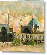Meidan Emam Esfahan Metal Print