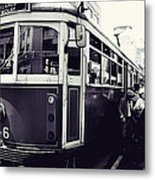 Old Tram In Melbourne Metal Print