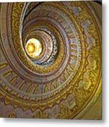 Melk Abbey Spiral Staircase Metal Print