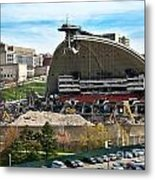 Mellon Arena Partially Deconstructed Metal Print