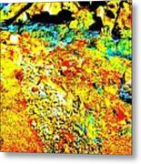 Mellow Yellow 76 Metal Print