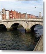 Mellows Bridge In Dublin Metal Print