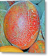 Melons Metal Print by Charlette Miller
