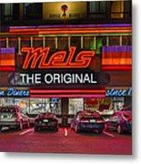 Mels Diner Metal Print