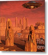 Members Of The Planets Advanced Metal Print