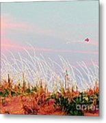 Memorial Day By The Sea Metal Print by Susan Carella