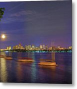 Memorial Drive - Cambridge Metal Print