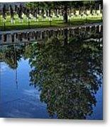 Memorial Reflecting Pool Metal Print