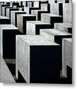 Memorial To The Murdered Jews Of Europe Metal Print by RicardMN Photography