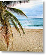 Memories Of A Gentle Wave Metal Print