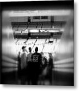 Memories Of Entering The Cathedral Of Baseball Metal Print