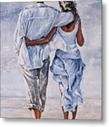 Memories Of Love Metal Print