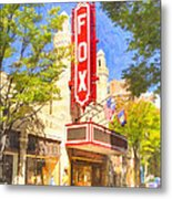 Memories Of The Fox Theatre Metal Print by Mark E Tisdale