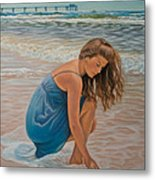 Memories Of The Sea Metal Print
