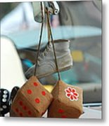 Memories On A String Metal Print