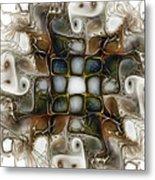 Memory Boxes-fractal Art Metal Print