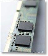 Memory Chips Metal Print