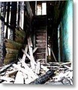 Memory Of Stairs Metal Print